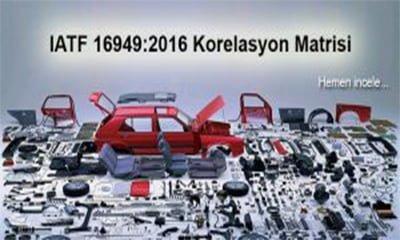 IATF 16949:2016 İçin Korelasyon Matrisi