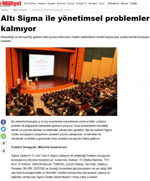 Basında Biz Milliyet Gazetesi